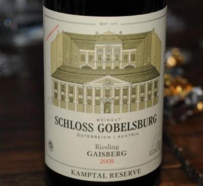 Schloss Gobelsberg Riesling 2008 Gaisberg