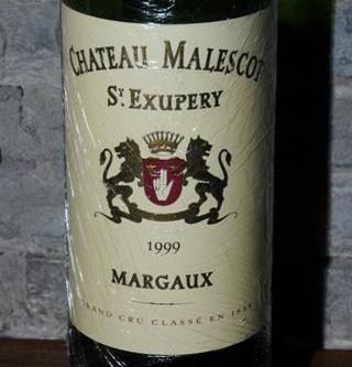 Château Malescot St. Exupéry Margaux 1999