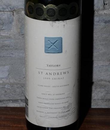 Taylors St Andrews 1999 Shriaz