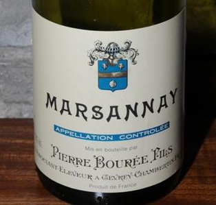 Pierre Bouree Fils Marsannay 1999
