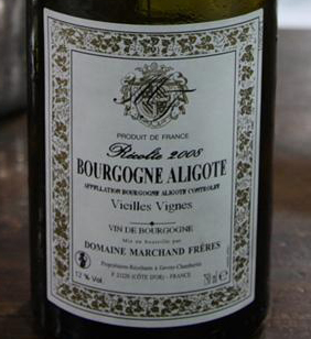 Domaine Marchand Freres Bourgogne Aligote 2008