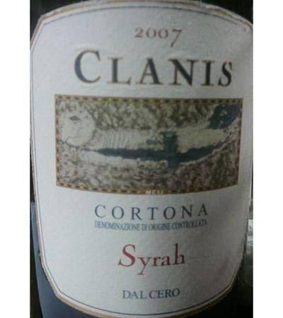 Clanis Cortona Syrah DOCG 2007