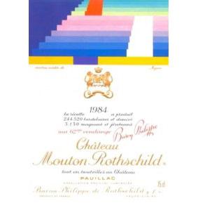 木桐罗思柴尔德堡  1984