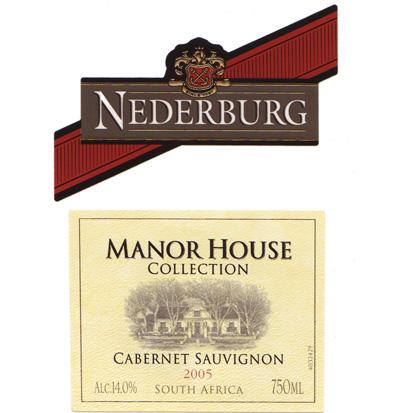 尼德堡庄园精选加本力苏维翁红葡萄酒
