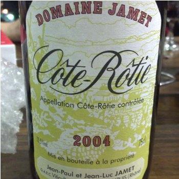 Domaine Jamet Cote-Rotie 2004