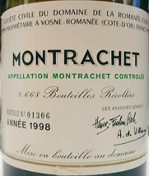 蒙勒舍特级白葡萄酒2004