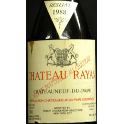 Château Rayas Châteauneuf-du-Pape Reserve 1988