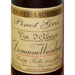 Domaine Weinbach Pinot Gris Cuvée Laurence 2004