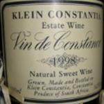 Klein Constantia Vin de Constance 1998