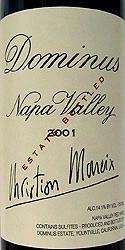 Dominus Estate 2001