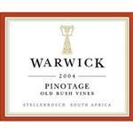 Warwick Estate Pinotage Old Bush Vines 2004