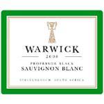 Warwick Estate Sauvignon Blanc Professor Black