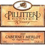 Pillitteri Estates Winery Cabernet-Merlot 2007