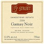 13th Street Gamay Noir Estate Sandstone 2006