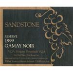 13th Street Gamay Noir Reserve Sandstone 1999
