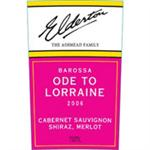 Elderton CS Shiraz Merlot Ode to Lorraine 2006