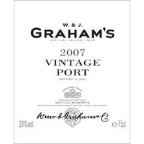 格兰姆年份波特酒 2007