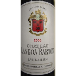 Château Langoa Barton 2006