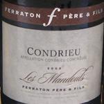 Ferraton Père & Fils Condrieu Les Mandouls 2009