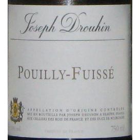 约瑟夫杜鲁安Joseph Drouhin Pouilly Fuissé 2007