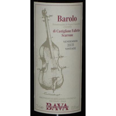巴伐Contrabbasso低音提琴 Barolo DOCG 2005