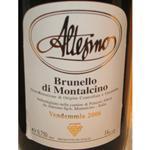 阿尔特西诺酒庄布鲁内罗蒙塔奇诺干红2006