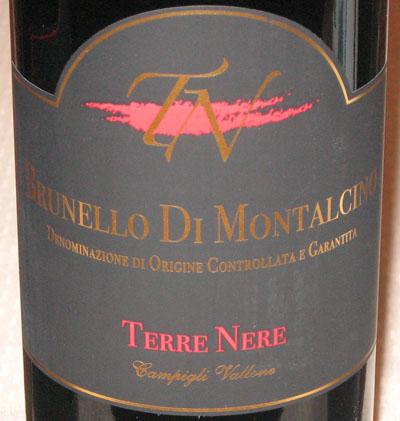 黑土-冈毕利谷地酒庄Brunello di Montalcino 2006