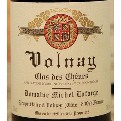 Domaine Michel Lafarge Volnay Clos des Chênes 1999