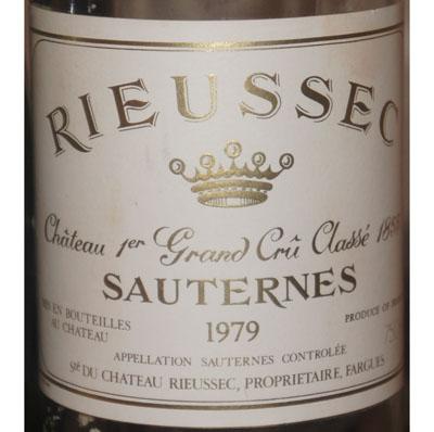 Château Rieussec 1979