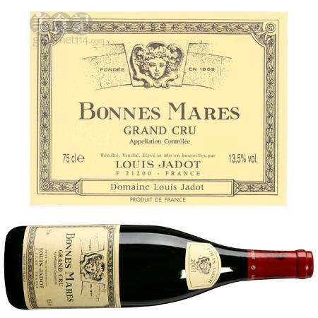 路易亚都世家邦玛尔头等苑红葡萄酒 2001