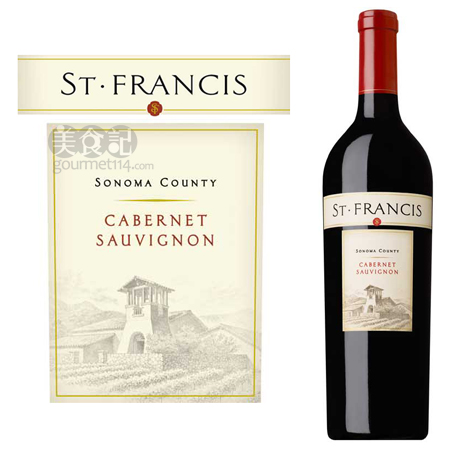 圣弗朗西丝加本力苏维翁干红葡萄酒