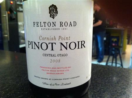 Felton Road  Cornish Point Pinot Noir 2008