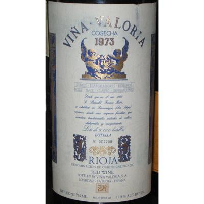 Viña Valoria Rioja Cosecha 1973