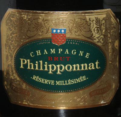 Philipponnat Champagne Reserve Millesimee 2000
