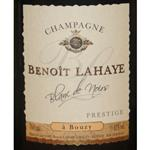 Benoît Lahaye Champagne Blanc de Noirs a Bouzy