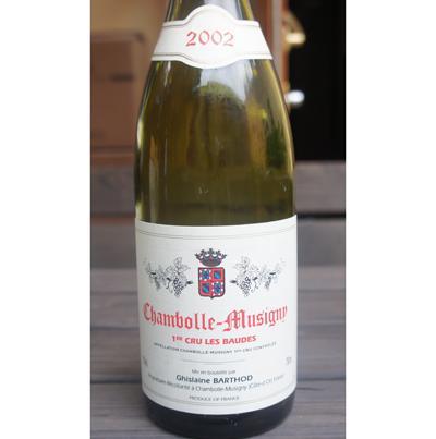 Ghislaine Barthod Chambolle-Musigny 1er Cru Les Baudes 2002