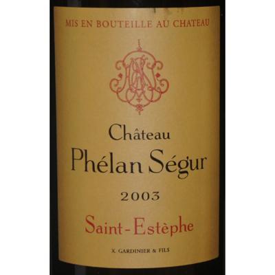 Chateau Phelan Segur 2003