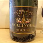 1992 bollinger vieilles vigne francaise blanc de noir champagne france
