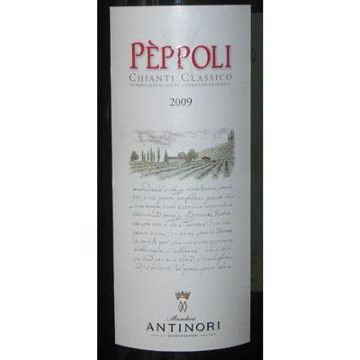 安东尼世家碧波葡萄园经典坎蒂红葡萄酒2009