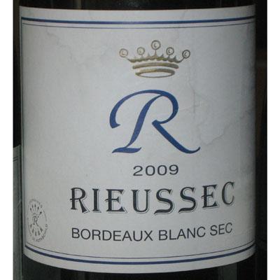 瑞莎古堡干白葡萄酒2009