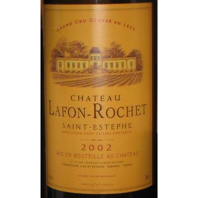Chateau Lafon-Rochet 2002