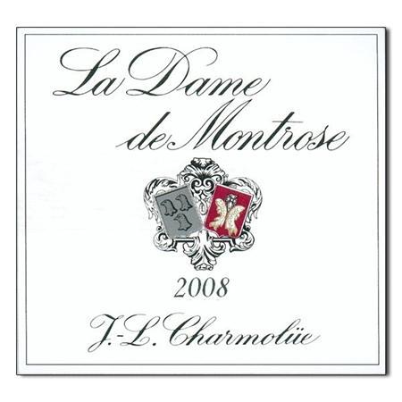 梦玫瑰的副牌La Dame de Montrose 2008