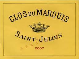 雄狮副牌 Clos Du Marquis 2007