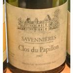 Domaine Closel Chateau des Vaults Savennieres Clos du Papillon 2007