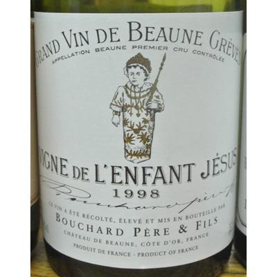 布夏父子小耶稣干红葡萄酒1998