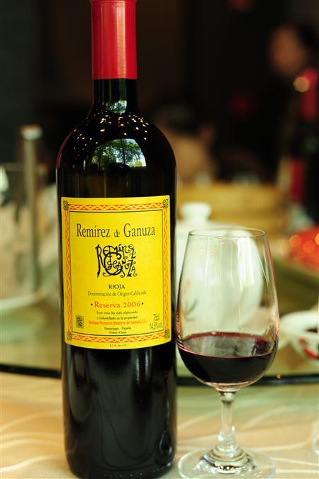 甘露莎珍藏干红葡萄酒