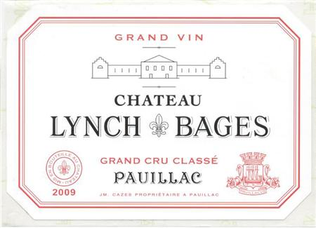 靓次伯2009 Chateau Lynch Bages 2009