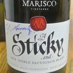 Marisco Vineyards A Sticky End Noble Sauvignon Blanc 2010