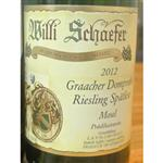 Willi Schaefer Gracher Domprobst Riesling Spatlese 2012