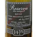 Caves Vidigal Vinho Regional Lisboa Reserva dos Amigos 2010